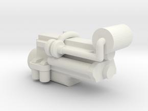 1/64 IH Dt466 Engine in White Natural Versatile Plastic