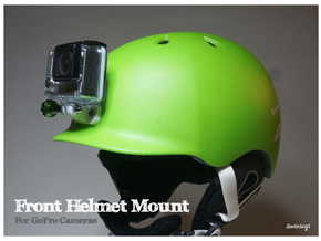 Simensays GoPro Helmet Mount in White Processed Versatile Plastic