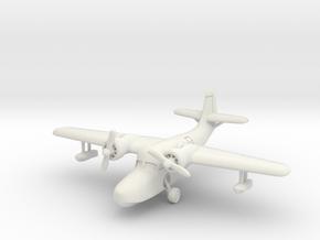 Grumman JRF-5 Goose (with landing gear) 1/200 in White Natural Versatile Plastic