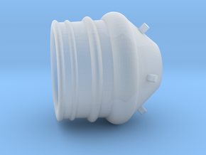 Roketeer fuel thruster small in Smooth Fine Detail Plastic