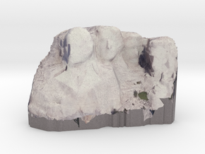 Mount Rushmore in Full Color Sandstone