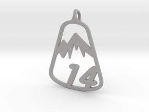 Classic 14er Pendant in Aluminum