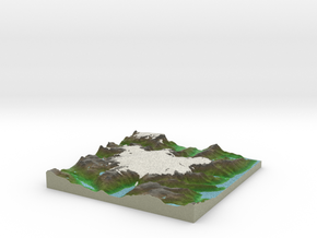 Terrafab generated model Mon Aug 15 2016 13:39:54  in Full Color Sandstone