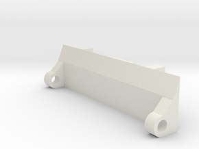 Metroplex Ramp Adaptor in White Natural Versatile Plastic