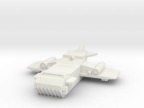 Osprey Bomber in White Natural Versatile Plastic