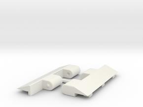 Metroplex TR Adapters in White Natural Versatile Plastic