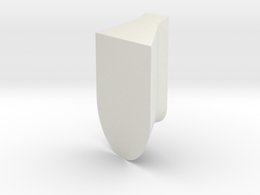 spanish moss cube for wall - joint in White Strong & Flexible