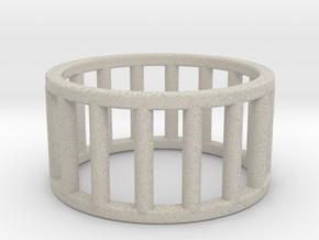 Albaro Ring- Size,6 in Natural Sandstone