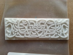 Thors Hammer Side Runes in White Natural Versatile Plastic