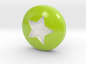 Star Ball - Supernova Soccer in Glossy Full Color Sandstone