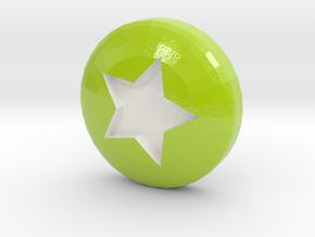 Star Ball - Supernova Soccer in Coated Full Color Sandstone