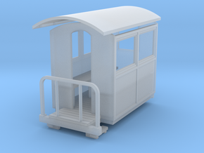 55n9 Small closed coach  in Smooth Fine Detail Plastic