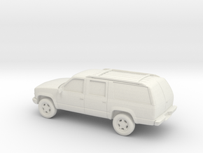 1/100 1999 Chevrolet Suburban in White Natural Versatile Plastic