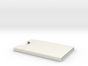 Card Holder for 5 cards in White Natural Versatile Plastic