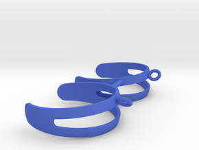 Pickel Ball Holder in Blue Processed Versatile Plastic