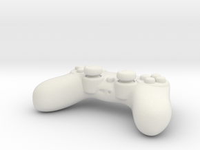Ps4 Controller Tiny  in White Natural Versatile Plastic