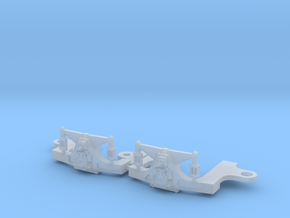 Hodges N scale trailing truck in Smooth Fine Detail Plastic