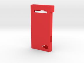 Pokedex Case Body in Red Processed Versatile Plastic