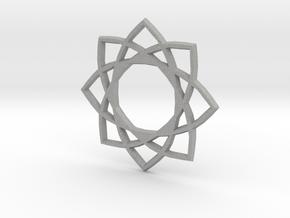 Star Pentagram in Aluminum