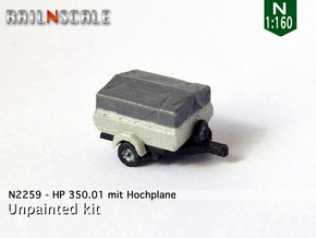 HP 350.01 mit Hochplane (N 1:160) in Frosted Ultra Detail