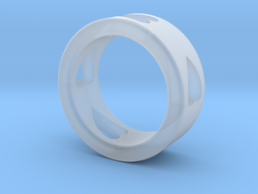 LOVE RING size-6 in Smooth Fine Detail Plastic