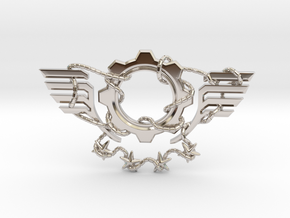 Gears of War Insane in Rhodium Plated Brass