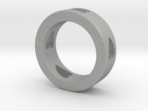 LOVE RING Size-10 in Aluminum