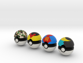 Pokeballs (Set 02) in Full Color Sandstone
