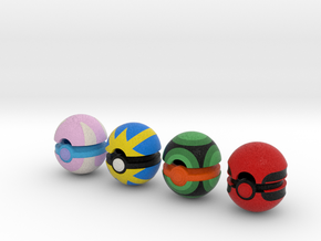 Pokeballs (Set 06) in Full Color Sandstone