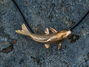 Carp in Natural Brass