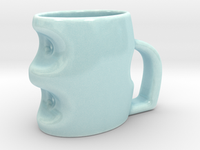 Touch Cup  in Gloss Celadon Green Porcelain