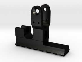 Rk95 front rail in Matte Black Steel