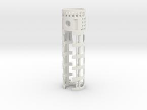 PDW-CF-01 - Padawan CF/PC & 16650 battery V1 in White Natural Versatile Plastic