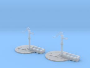 Street pump type: A 1:87( H0 ) scale 2 Pcs set in Smoothest Fine Detail Plastic