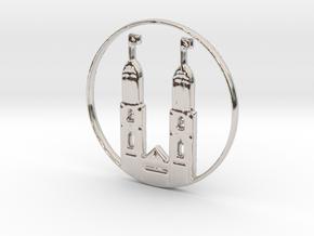 Zurich Pendant in Platinum