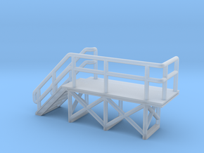 N Scale train crew platform #2 in Frosted Ultra Detail