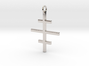 Salem Cross/Ever-Lasting Contrast in Platinum