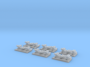 Legion - Boarding Torpedo - S3 x6 in Smooth Fine Detail Plastic