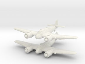 1/240 Bristol Beaufighter Mk.Ic (x2) in White Natural Versatile Plastic