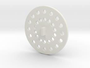 Super cute cupcake herb grinder - Part 2 in White Natural Versatile Plastic