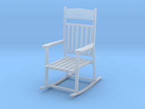 1/64 (S) Rocking Chair in Smooth Fine Detail Plastic