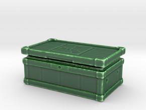 Large Box Porcelain in Gloss Oribe Green Porcelain