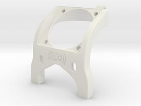 Associated B6 30mm Fan Brace Laydown in White Natural Versatile Plastic