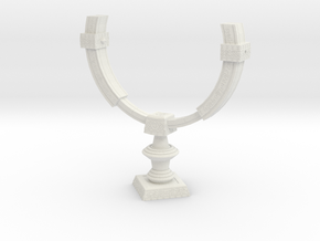 """TP"" Mirror of Twilight (Stand Base) in White Natural Versatile Plastic"
