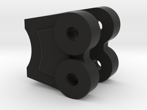 NC60 Link Mount Symmetric in Black Natural Versatile Plastic