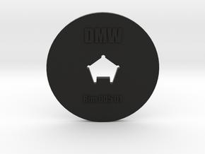 Clay Extruder Die: Rim 005 01 in Black Natural Versatile Plastic