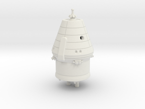 1:144 Federation / PTK Spacecraft (no solar panels in White Natural Versatile Plastic