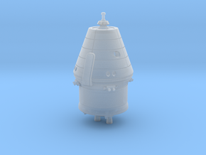 1:144 Federation / PTK Spacecraft (no solar panels in Smooth Fine Detail Plastic