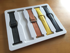 Apple Watch Band Tray Mk 2 in Natural Sandstone