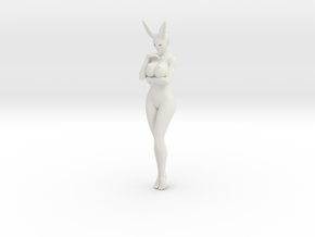 Bunny lady 005 1/10 in White Natural Versatile Plastic